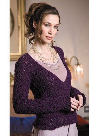 Patons Lacy Sweater